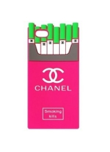 Chanel smoking kills case for İphone 5/5S/6/6 Plus, Samsung S6/S6 Edge